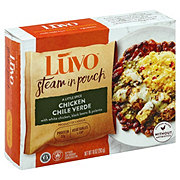 Luvo Chicken Chile Verde with Polenta and Black Beans
