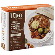 Luvo Turkey Meatloaf & Mashed Potatoes
