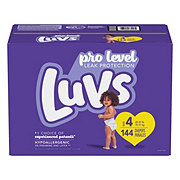 Luvs Giant Diapers, 144 ct