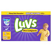 Luvs Ultra Leakguards Diapers 112 ct
