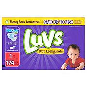 Luvs Ultra Leakguards Newborn Diapers 174 ct