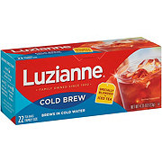 Luzianne Cold Brew Tea Bags Family Size