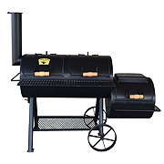 Lyfe Tyme Charcoal Double Lid Grill with Firebox