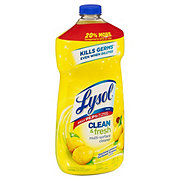 Lysol Clean & Fresh Multi Surface Cleaner Dilutable Lemon Sunflower