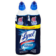 Lysol Complete Clean Max Coverage Power Toilet Bowl Cleaner Value Pack