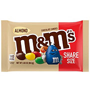 M&M's Almond Chocolate Candy Sharing Size Pouch