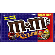 M&M's Caramel Chocolate Candy Pouch, Share Size