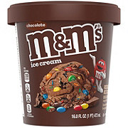 M&M's Chocolate with Chocolate Candies Ice Cream