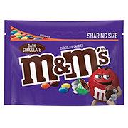 M&M's Dark Chocolate Candies Sharing Size Bag