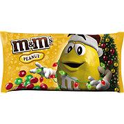 M&M's Holiday Peanut Chocolate Candy Bag