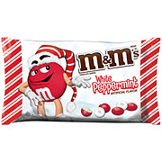 M&M's Holiday White Peppermint Chocolate Candy