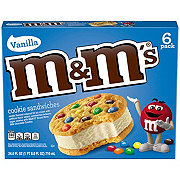 M&M's Ice Cream Cookies