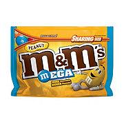 M&M's Mega Peanut Chocolate Candies Bag