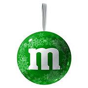 M&M's Milk Chocolate Candies Ornament Christmas Tin