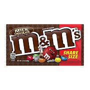 M&M's Milk Chocolate Candies Sharing Size