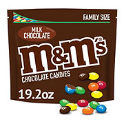 M&M's Milk Chocolate Candy Family Size Bag