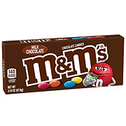 M&M's Milk Chocolate Candy Movie Theater Box