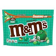 M&M's Mint Dark Chocolate Candy Sharing Size Bag
