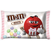 M&M's White Chocolate Easter Candy Bag