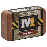 M1 Deep Clean Face And Body Bar