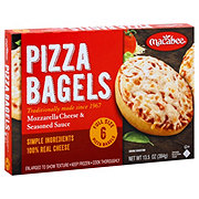 Macabee Cheese Bagel Pizzas