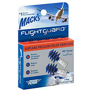 Mack's Flightguard Airplane Pressure Ear Plugs