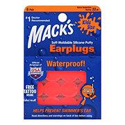Mack's Kidz Size Pillow Soft Earplugs