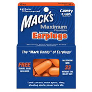 Mack's Maximum Protection Soft Foam Earplugs