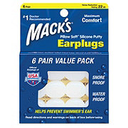 Mack's Pillow Soft Silicone Putty Earplug