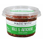 Made With Kale Artichoke Salsa