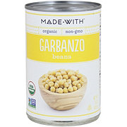 Made With Organic Garbanzo Beans