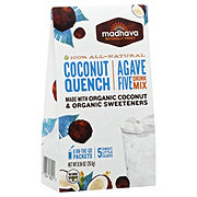 Madhava Agave Five Drink Mix Coconut Quench
