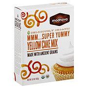 Madhava Organic Mmm... Super Yummy Yellow Cake Mix