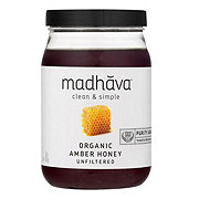 Madhava Organic Pure & Raw Honey