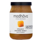 Madhava Organic Very Raw Unfiltered Honey