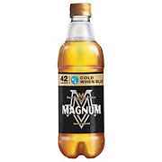 Magnum Malt Liquor Bottle