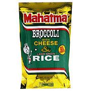 Mahatma Broccoli with Cheese Rice