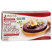 Maika Beet Veggie Burger