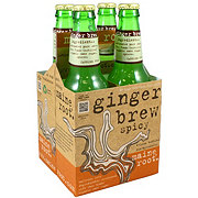 Maine Root Organic Ginger Brew 4 PK Bottles