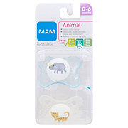MAM Animals Pacifier (0-6 Months), Assorted Colors