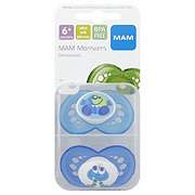 MAM Monsters Pacifier Silicone, Assorted Colors