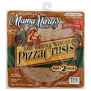 Mama Mary's 100% Whole Wheat with Honey Pizza Crusts, 16 oz