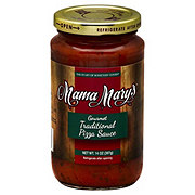 Mama Mary's All Natural Traditional Style Gourmet Pizza Sauce