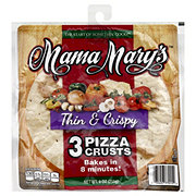 Mama Mary's Thin and Crispy 7 Inch Pizza Crusts