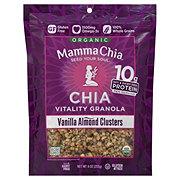 Mamma Chia Organic Granola Vanilla Almond Clusters