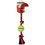 Mammoth Mini 3 Knot Tug with Tennis Balls  Dog Toy