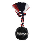 Mammoth TireBiter Ball With Flossy Rope