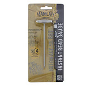 Man Law Instant Read Guage Thermometer Glow In the Dark
