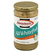 Manischewitz All Whitefish in Liquid Broth