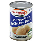 Manischewitz Clear Condensed Chicken Soup with Matzo Balls